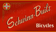 36 X 21 Reproduced Vintage Schwinn Bicycle Sign On Graphic Canvas