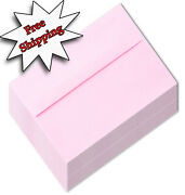Pastel Pink A7 Envelopes 5-1/4 X 7-1/4 For 5 X 7 Greeting Cards Invitations Baby