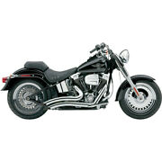 Cobra Speedster Swept Short Exhaust - Chrome - And03907-and03911 Softail   6224