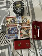 Nintendo 3ds Xl+5 Pokemon Games+430 Pokemon Card Collection+2styluses+ac Charger