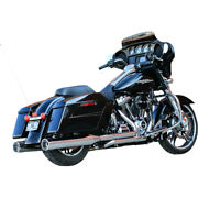 Sands Cycle El Dorado 50 State Exhaust - Chrome With Tracer Tips | 550-0851