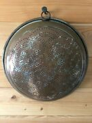 Vintage Copper French Country Punch Holes Strainer/sieve