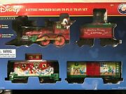 Lionel Trains Mickey Mouse Express Disney Ready To Play Christmas Train Set New
