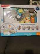 Fisher Price Perfect Sense Deluxe Activity Animal Gym Mat 20 Features