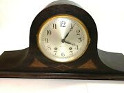As Is Antique Seth Thomas Mantle Chime Clock Parts Repair With Key