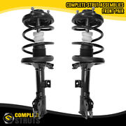 2011-2018 Mitsubishi Outlander Sport Front Pair Complete Struts And Coil Springs
