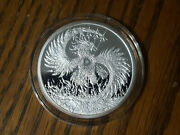 2 Oz 2018 Mark Of The Beast Proof - Death Of The Dollar 13 Silver Shield 999 Ag