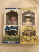 Vintage Toys 80andrsquos Fisher Price My Friend Jenny Doll Mikey Doll