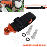Cnc Universal Motocycle Dirt Pit Bike Rescue Strap Pull Belt Lift Tow Rope Tool