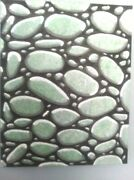 3d Huge River Rock 16x20 Pour Painting Signed On Sale Now