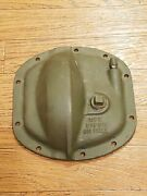 Ford Wwii Gpw Jeep Script F Differential Cover Hypoid Gear Oil