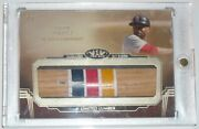 2019 Topps Tier One Ozzie Smith Bat Barrel 1/1 Game Used Oz Padres/cardinals