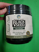 Amazing Herbs Black Seed Ground Seed 16 Ounce Exp-11/2021