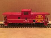 Ho Overland Models Brass Santa Fe Wide Vision Ce-6 And Ce-8 Caboose Atsf 999725