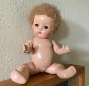 Vintage Rare Find 1931 Effanbee Patsy Babyette Doll -amazing Face And Hair Exc