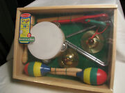 New Melissa And Doug Band In A Box 10 Pieces