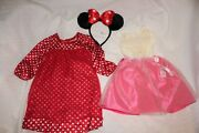 Disney Princess Outfit Toddler My Size 36 Barbie Doll Clothes Minnie Mouse Ears