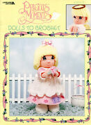 Precious Moments Dolls To Crochet - 16 Dolls - Leisure Arts Booklet 3189
