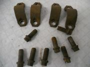 Corvette C-4 1984 1996 Rear Spindle Clamp And Bolt Retainers Holders