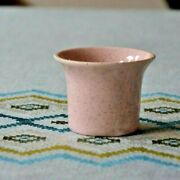 Bauer Pottery Buffet Warmer Extremely Rare 2 Speckled Pink Great Cond.