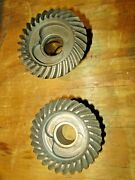 Omc Brp Johnson Evinrude Forward And Reverse Gear Set 2 Jaw Dog 9.9 15 1974-1980