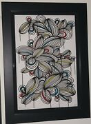 Kef Flame Of Jewels 8 - Sold Out Ltd Ed Screen Print Hand Signed/numbered