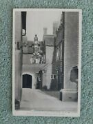 18167 Postcard Middlesex Hampton Court Palace, View In Master Carpenters Court