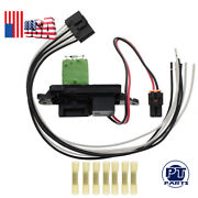 A/c Blower Motor Resistor W/ Wire Harness For 02-07 Chevrolet Suburban 973-405