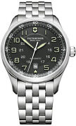 Watch Man Victorinox Airboss V241508 Of Stainless Steel Silver