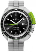 Watch Man Edox Hydro-sub 532003nvmnin Of Stainless Steel Silver Plated