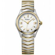 Watch Woman Ebel Wave 1216195 Of Stainless Steel Silver Plated