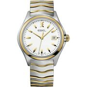 Watch Woman Ebel 1216203 Of Stainless Steel Silver Plated