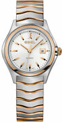 Watch Woman Ebel 1216236 Of Stainless Steel Silver Plated