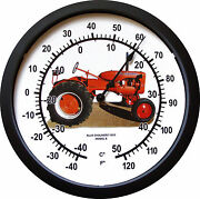New Vintage 1953 Allis Chalmers Model B Tractor Thermometer Massive 14 Round