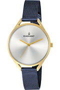 Watch Woman Radiant New Starlight Ra432211 Of Stainless Steel Blue