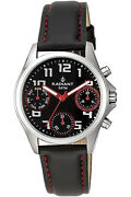 Watch Ni Andndash Os Radiant New Cadette Ra385709 Leather Black
