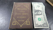 1870 Metropolitan Life Insurance Company Policy Booklet