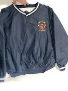 Vintage San Francisco Fire Department Pullover Windbreaker X-large Pre Owned