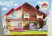 Bluey's Family Home Playset With Bluey Figure And Furniture Brand New In Hand