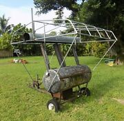Wood Or Charcoal Barbecue/smoker