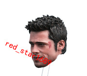 1/6 Scale Fight Club Brad Pitt Wounded Man Head Sculpt Fit 12'' Action Figure
