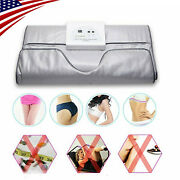 Top Infrared Body Detox Machine With Spa Weight Loss Bag Thermal Heating Blanket