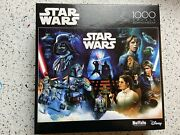 Star Wars 1000 Pc Puzzle - Cool Collage Jigsaw - New Sealed Darth Chewbacca Han