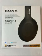 Sony Wh-h910n H.ear On 3 Bluetooth Noise Canceling Stereo Headphones - New