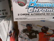 2020 Bowman Chrome 4 Hobby Box Lot - In Stock - 4 Fresh Boxes From New Case