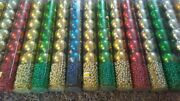 90 Ornaments / 270 Ft. Beads Christmas Tree Garland Red,gold,green,blue,silver