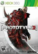 Prototype 2 Ultimate Hunting And Shooting Video Game For Xbox 360