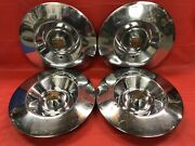 Vintage Set Of 4 1953 Cadillac 15andrdquo Hubcaps