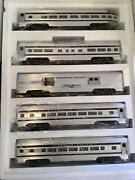 Williams 2610 Standard O Scale Canadian Pacific Stripped Passenger Car Set
