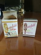 1 Vintage Chesterfield Ashtray With Box - Nice, Very Clean